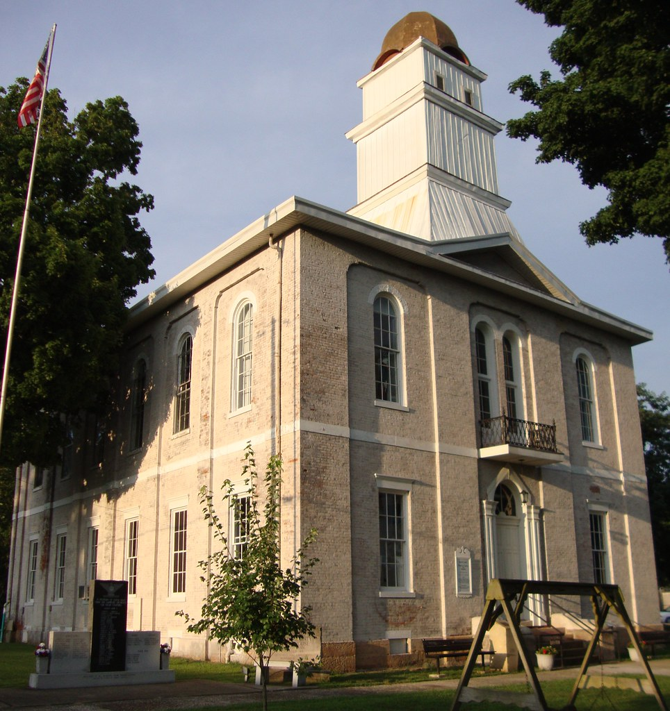 Indiana martin county shoals -  Old Martin County Courthouse Shoals Indiana By Courthouselover