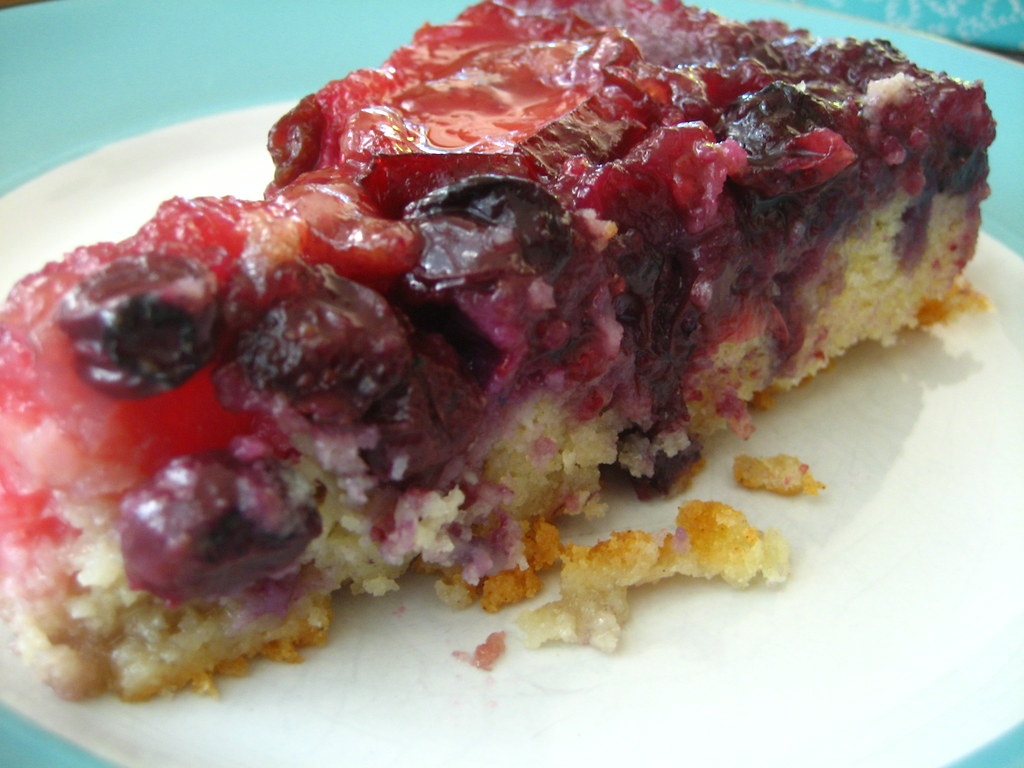Plum Blueberry Upside Down Cake | jensteele | Flickr
