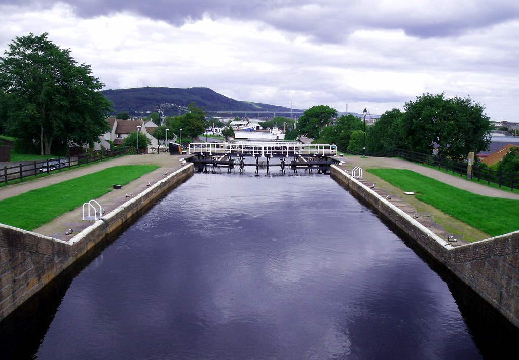 Caledonian Canal At Muirtown Locks Inverness Scotland Flickr