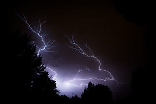 My first attempt at photographing lightning | by calanan