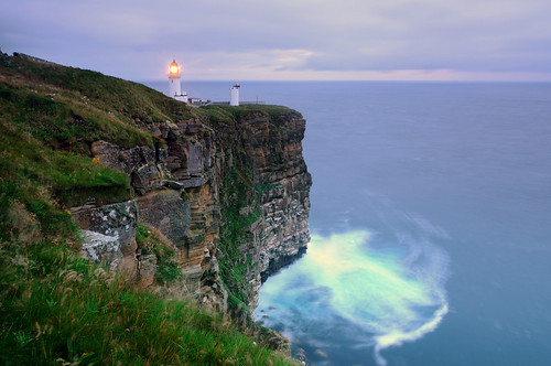 Dunnet Head lighthouse (the most northerly point on the British mainland), Caithness, Scotland | by iancowe