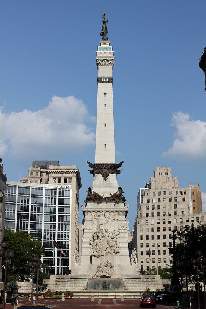 Indiana Soldiers and Sailors Monument | Dave and Emily's ...