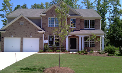 Beautiful Brick Home With Cozy Front Porch By Ashton Woods Homes Atlanta