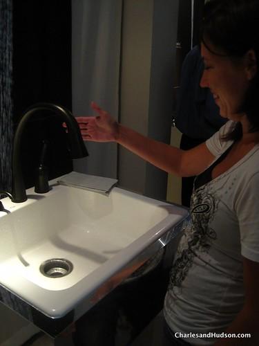 Delta Faucet  Ar Dst Essa Single Handle Pull Down Kitchen Faucet