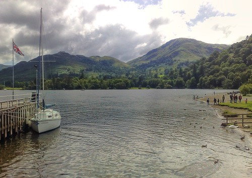 Ullswater from Glenridding Steamer Pier Cumbria | by woodytyke