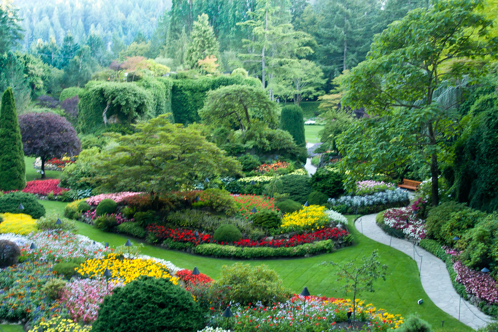 The Butchart Gardens, Brentwood Bay, near Victoria B.C.   Flickr