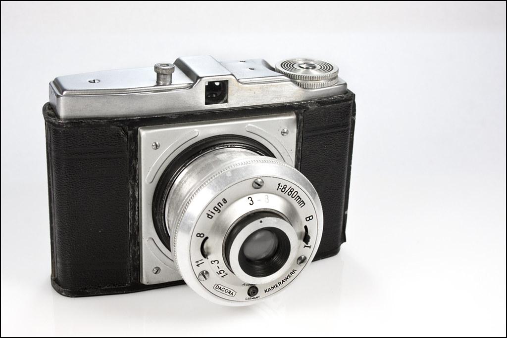 Dacora Digna | Dacora Digna, West German viewfinder camera ...