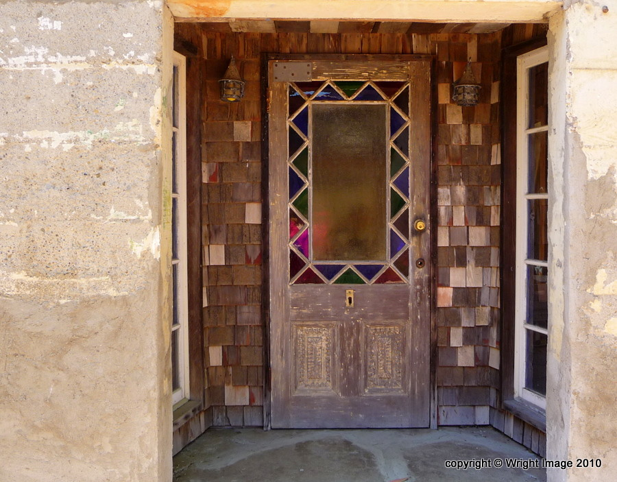 ... Harmony Entrance With Leaded Glass Door | By Kimberley Renee