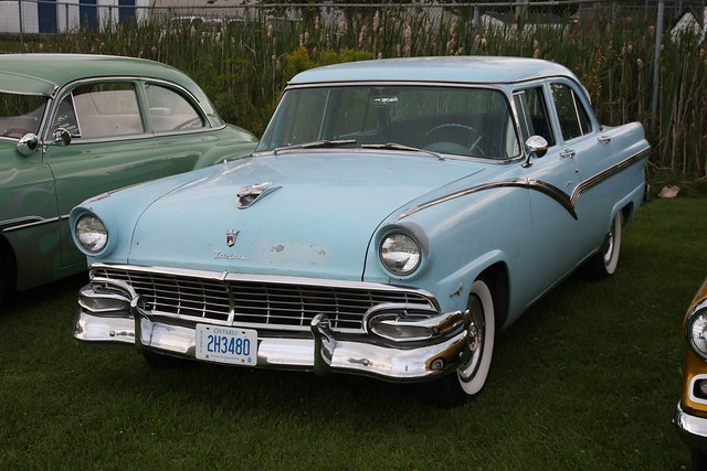 1956 ford fairlane 4 door flickr photo sharing for 1956 ford 4 door