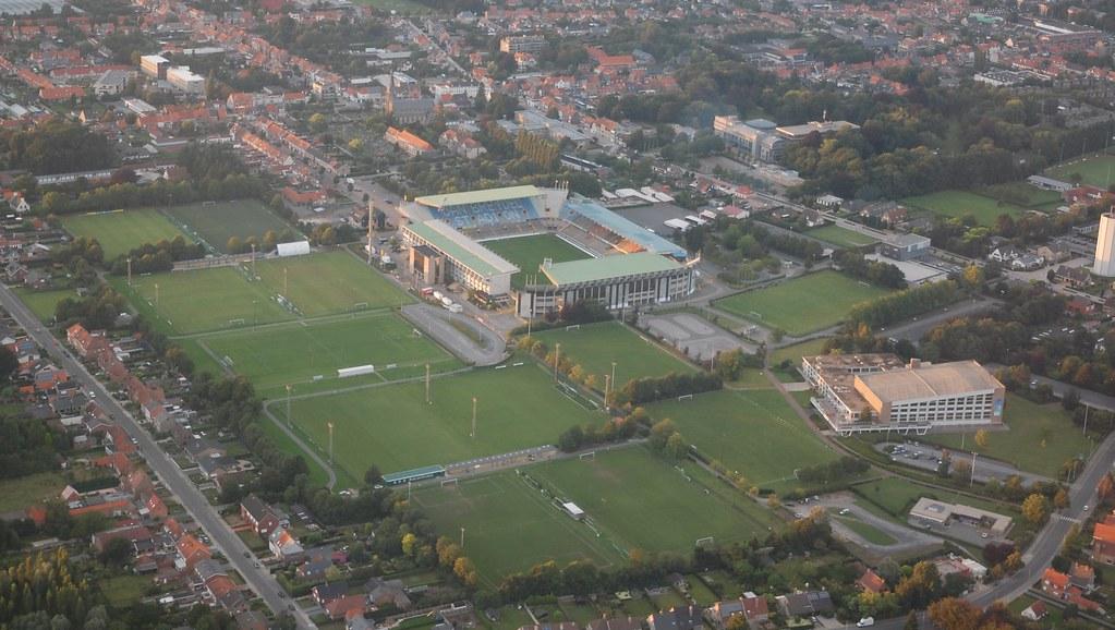 Jan Breydel Stadion En Oefenvelden Jan Breydel Stadion
