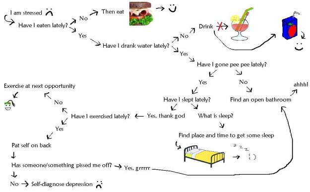 Residency Stress Flow Chart Compliments Of Nicole A Super Flickr