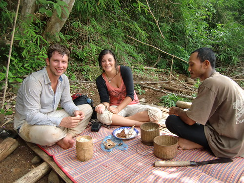 Lao picknick bij de waterval | by Jeske en Freek
