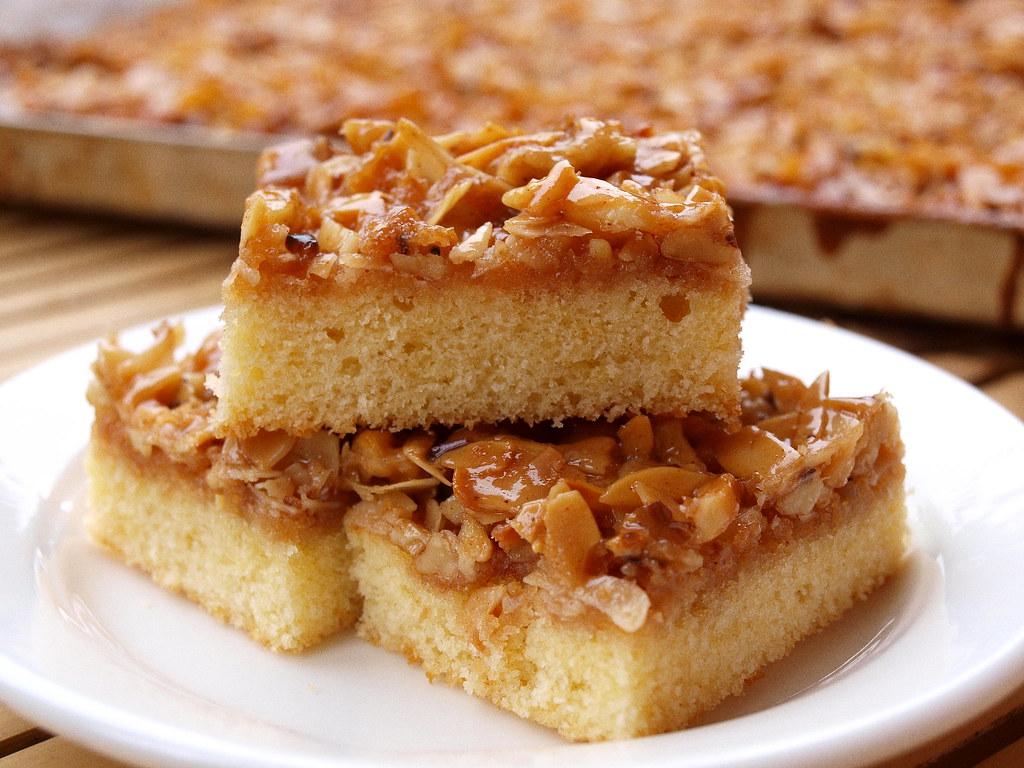 Arabischer Honig Mandelkuchen Squares Www Kekstester De Flickr