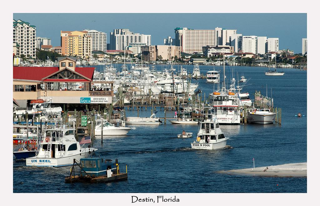 Destin Fl Destin Florida Along The Panhandle Of
