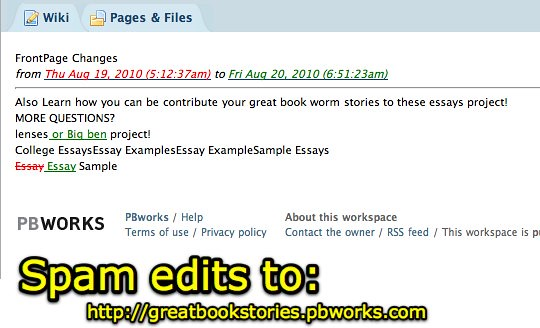 ... Great Book Stories - Spam Edits - by Wesley Fryer