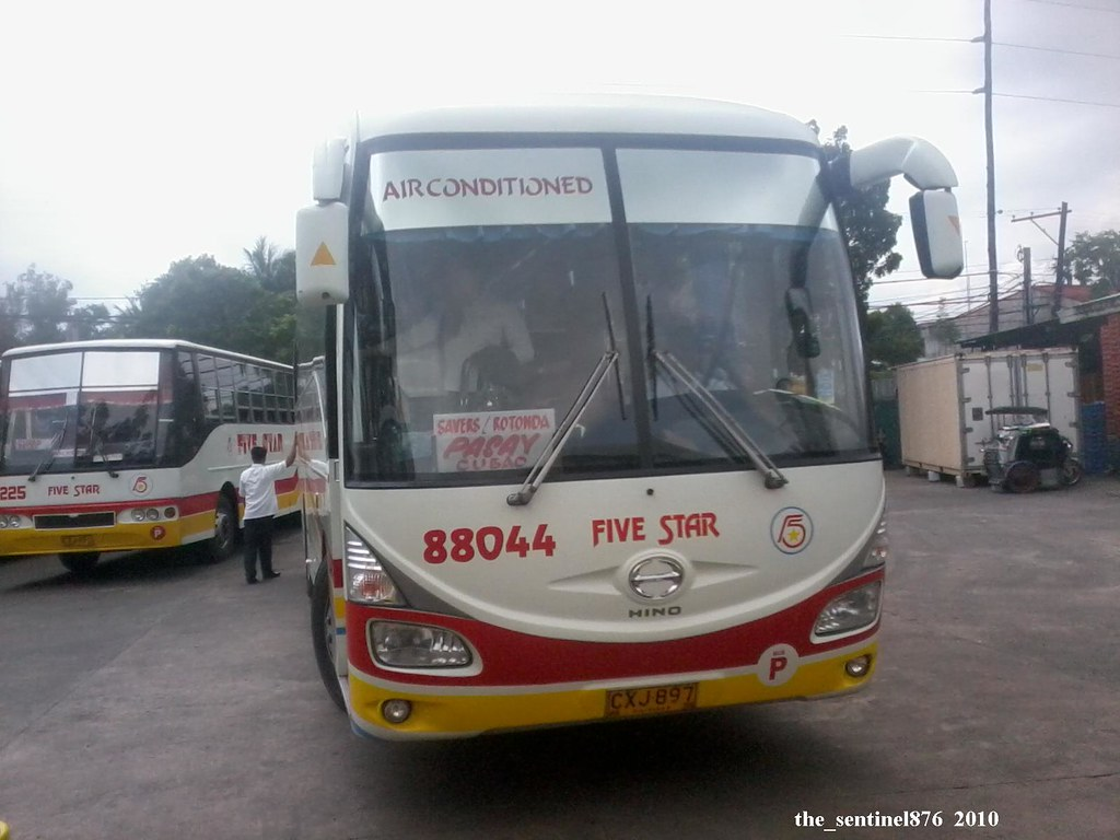 Pangasinan Five Star Bus 88044 Hino Rk By The_sentinel876