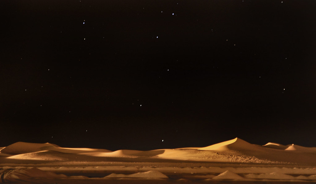 Sahara Algerian Desert at night | senss_sherb | Flickr