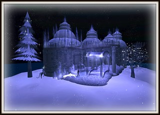 Snow Palace at Night | by *♥*Nat*♥*~www.thelostunicorngallery.com