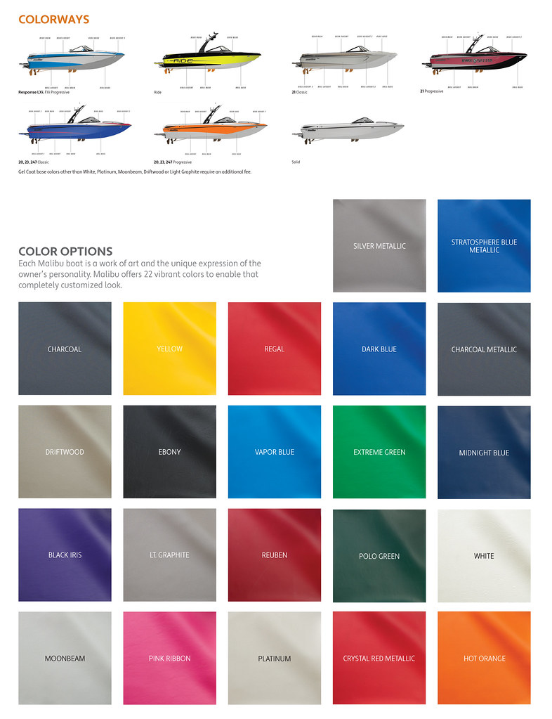 Choosing Malibu Boats Colors As A Custom Boat