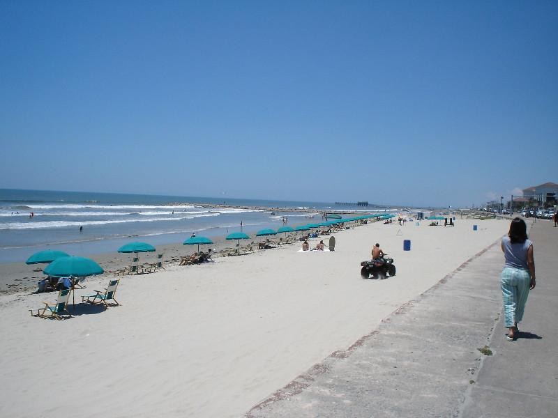 Galveston Island Texas Beach Seawall For More Check