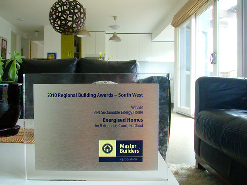 Energised Homes wins MBAV award | by Peter Reefman