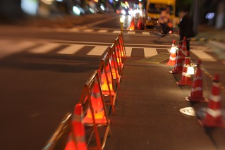 Street works in Ueno | by frau-klein