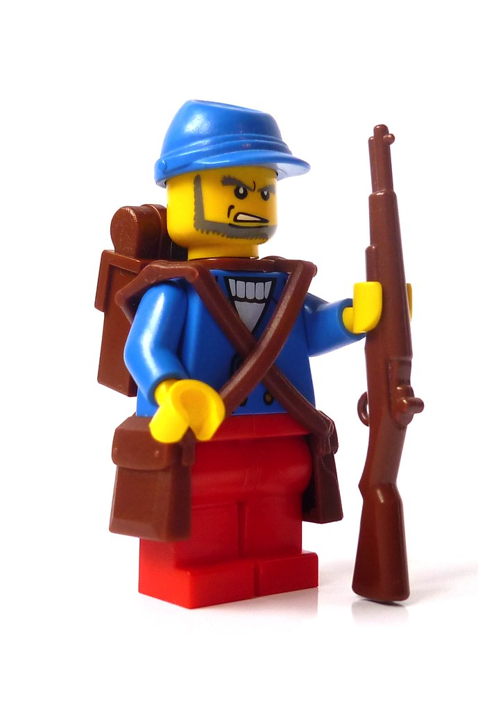 Wwi french soldier in 1914 uniforms equipment and for Siege lego france