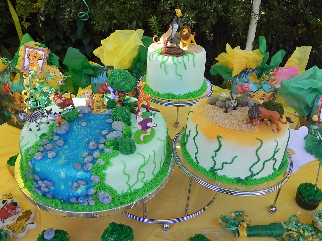 Lion King Cake Lion Theme Cake For A Baby S First