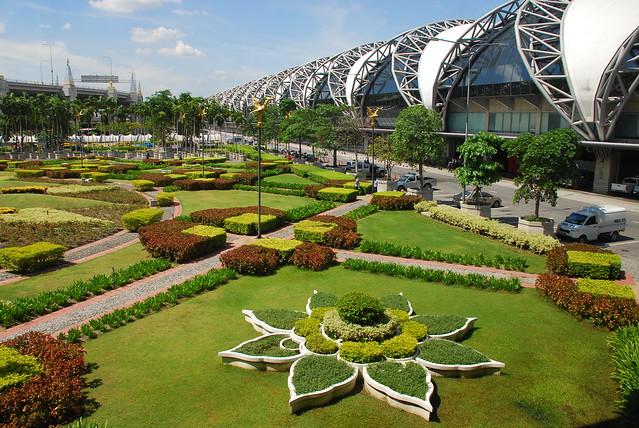 Bangkok Airport Gardens Flickr Photo Sharing