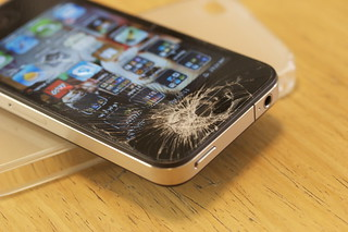 Shattered iPhone 4G | by carrrrrlos