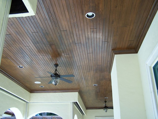 Tongue And Groove Ceiling With Crown Moulding Explore