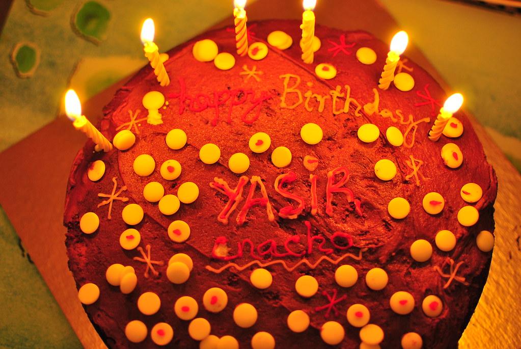 Happy Birthday To Me Its Written Happy Birthday Yasir Ch Flickr