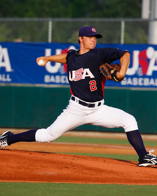Sonny Gray, P, (Vanderbilt) | USA Baseball 2010 Collegiate ...