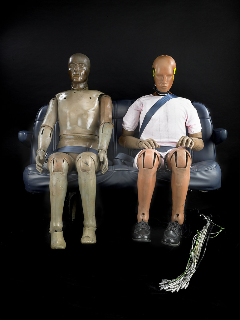 Crash Of Cars >> Hybrid II and Hybrid III crash test dummies | From left to r… | Flickr