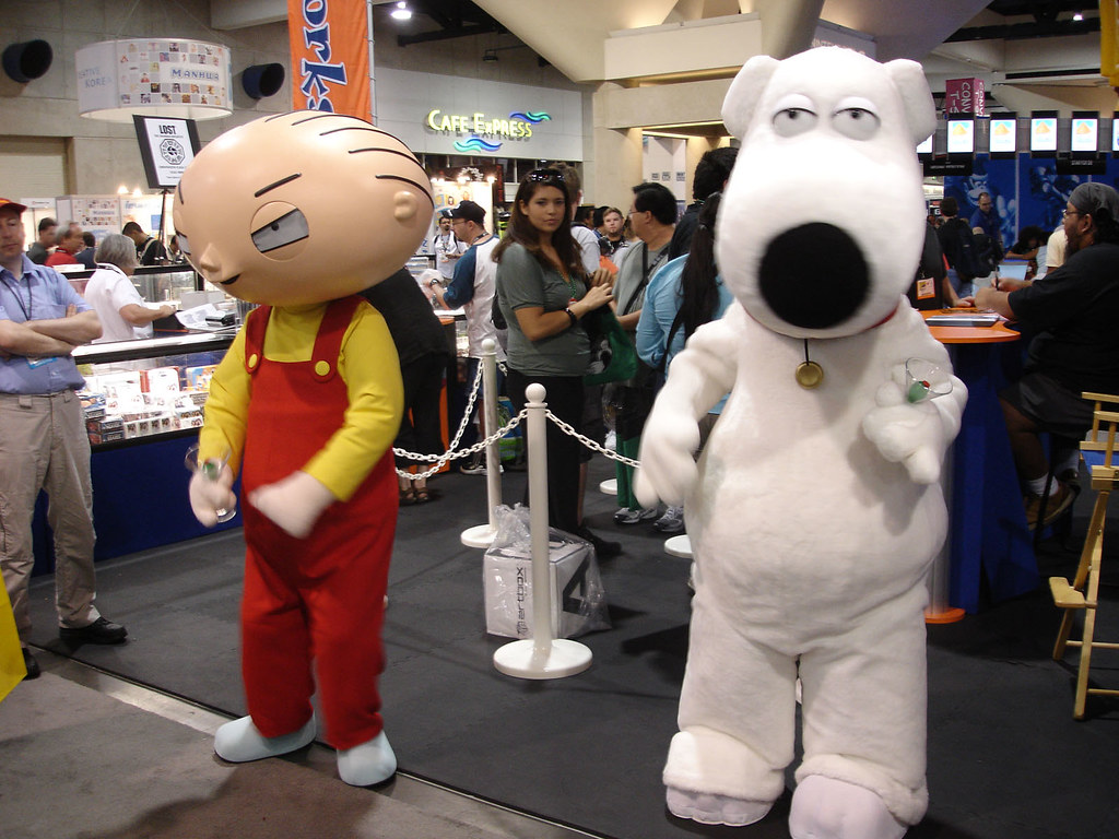 Comic-Con 2006 - Family Guy's Stewie and Brian | The Conmunity ...