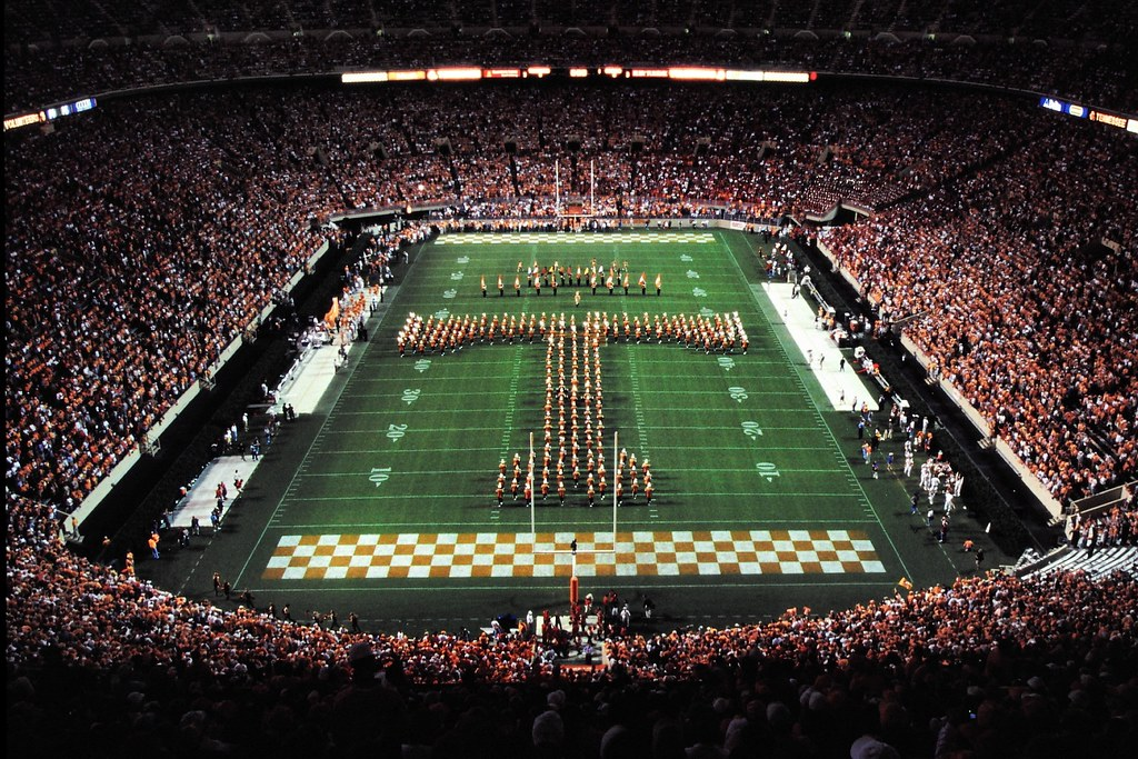 Neyland Stadium Power T Band | Univeristy of Tennessee ...