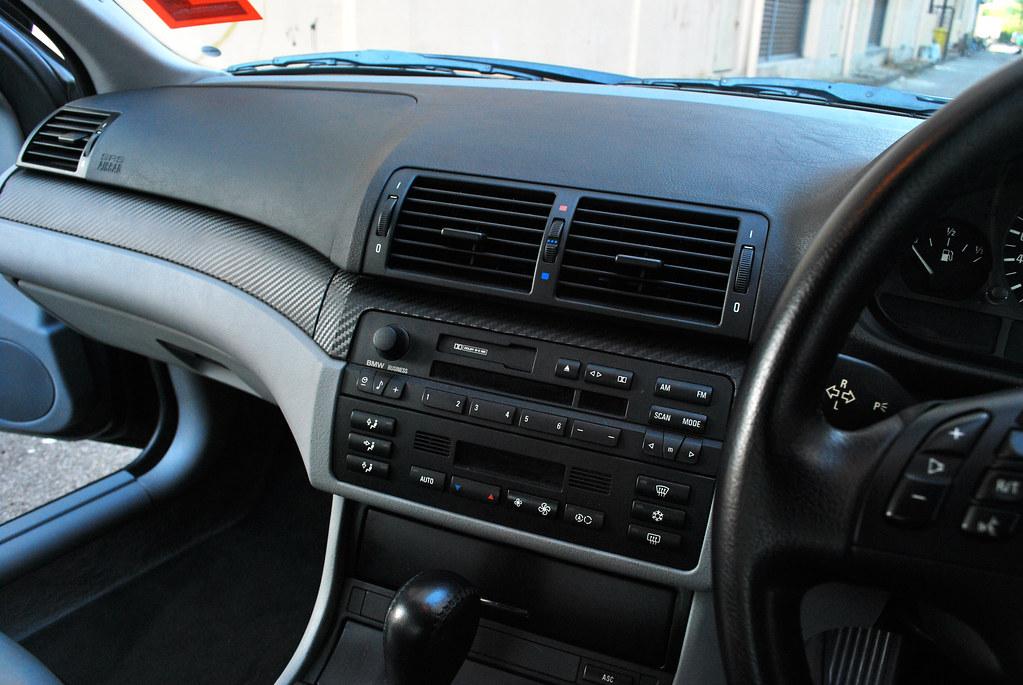BMW E46 Interior 3M Carbon Fibre Sticker Installation