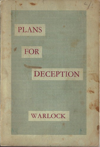 Plans for deception | by Kathryn Sutcliffe