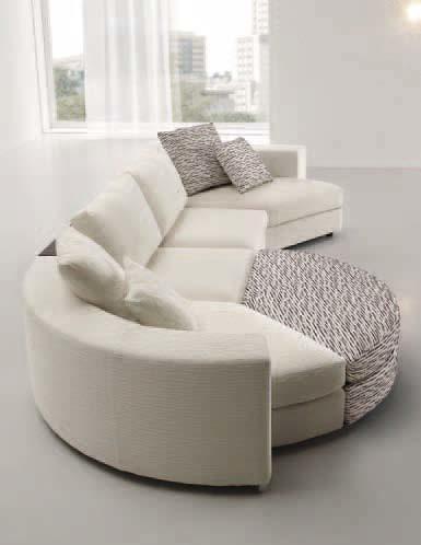 Karisma divani moderni ditre italia bianco con for Divani ditre