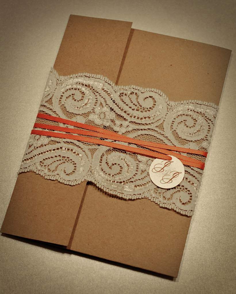 LaceRecycled Wedding Invitations Invitation samples for J – Lace for Wedding Invitations
