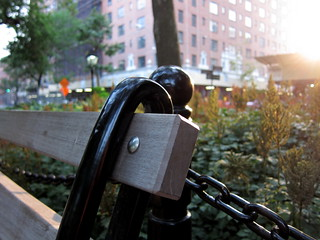 Park Bench Close-Up | by robnguyen01