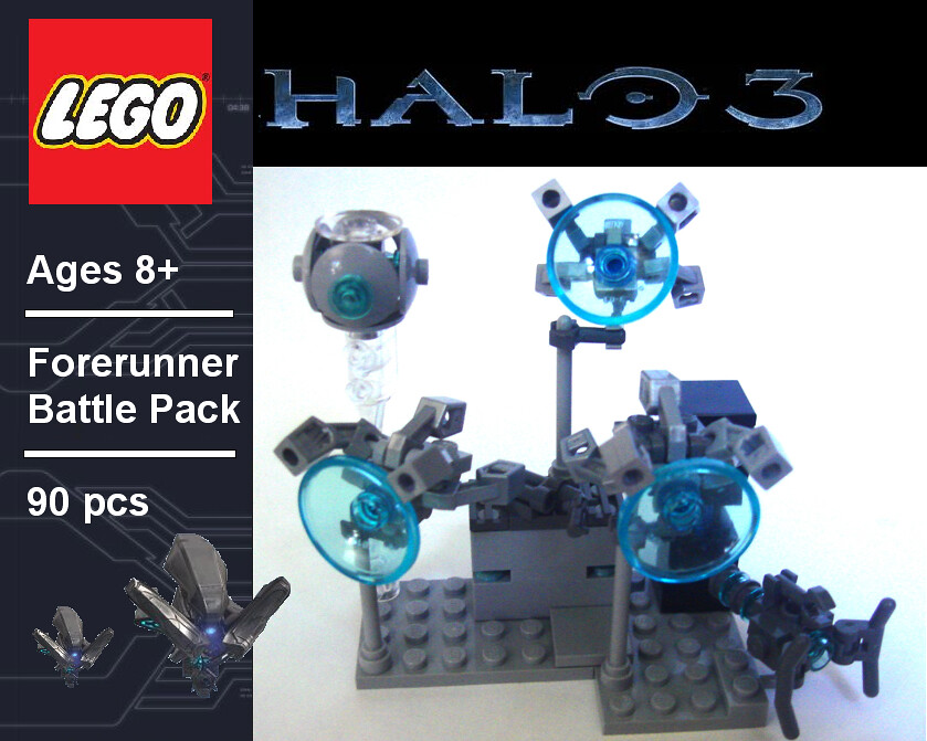 Forerunner Battle Pack Protect The Halo Rings The