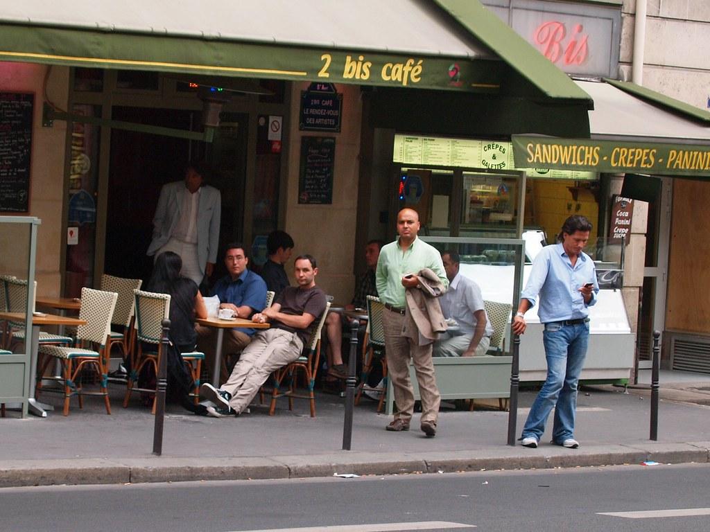 Bis Cafe Paris  Carte