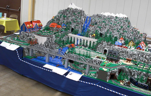 Darrow >> Lego Train Layout a | Brian Darrow | Flickr