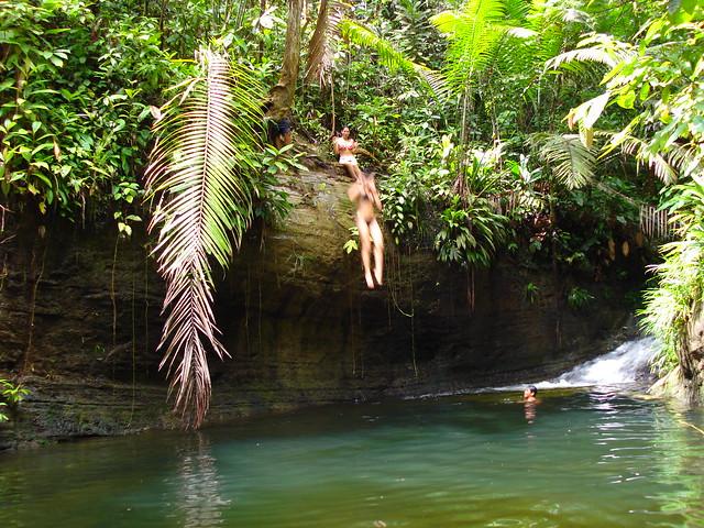 Piscinas naturales reserva aguamarina ladrilleros for Piscinas naturales