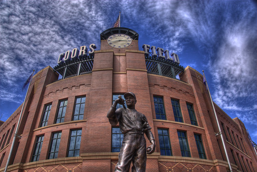 Colorado Rockies at Coors Field | by Thad Roan - Bridgepix