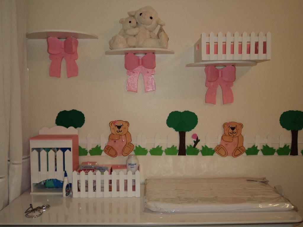Faixa Decorativa Infantil Para Quarto Toda Confeccionada E Flickr ~ Artesanato Para Decoração De Quarto