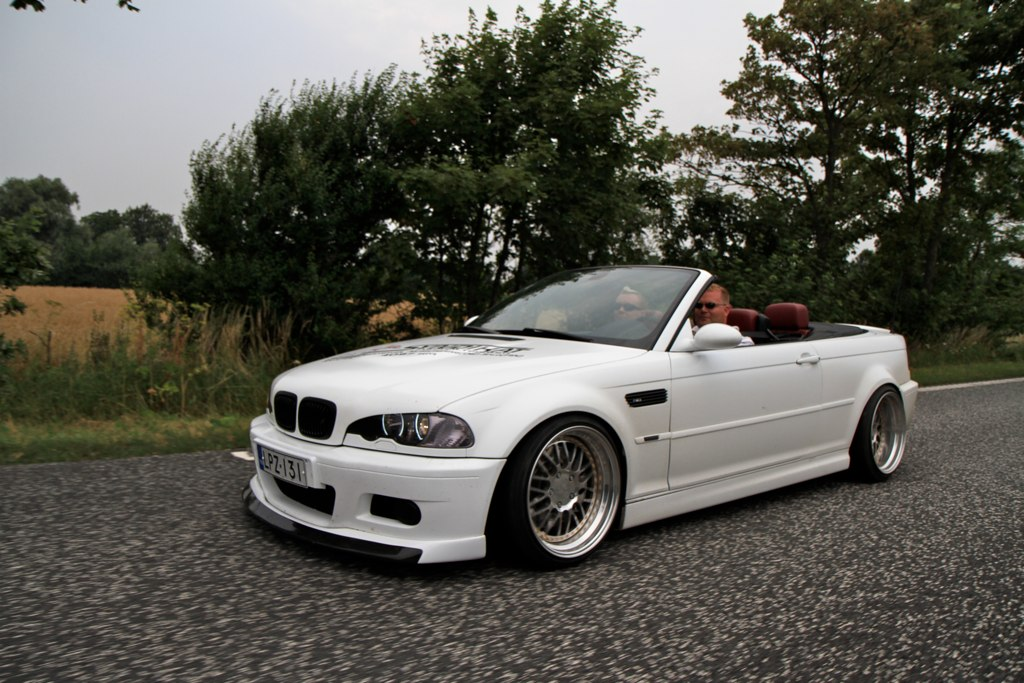 bmw m3 e46 cabriolet matte white my friends m3 cabriolet w flickr. Black Bedroom Furniture Sets. Home Design Ideas
