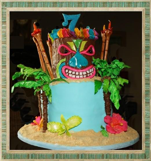 Tropical Themed Cake Ideas
