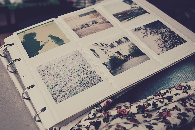 polaroid album | Helene hille Rydén